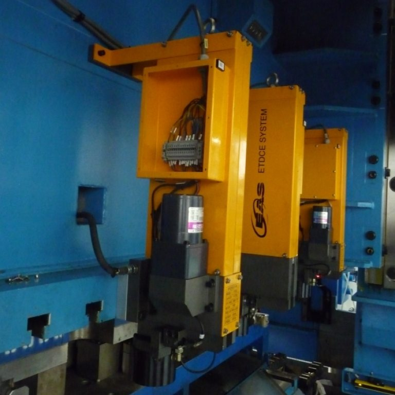 ETDC travelling die clamps