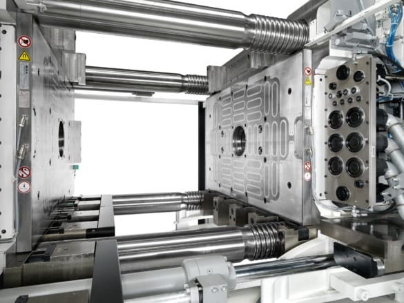 Magnetspannplatten für Mehrkomponenten-Spritzgießmaschinen