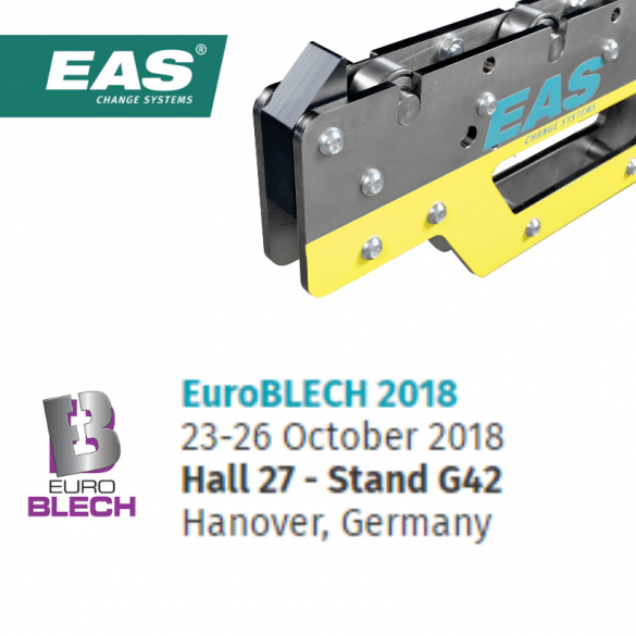 EAS at EuroBLECH 2018: easy handling, even for (very) heavy tools